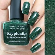 piCture pOlish : Picture Polish Kryptonite Shop here- www.color4nails.com Worldwide shipping available