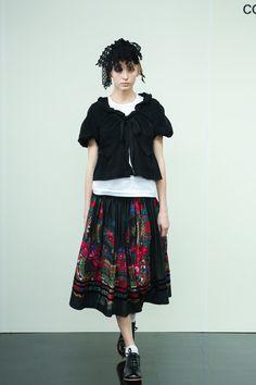 [No.7/87] tricot COMME des GARÇONS 2014春夏コレクション | Fashionsnap.com