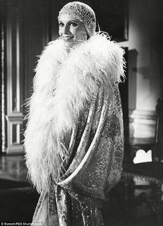 Daisy Fay Buchanan played by Mia Farrow in the 1974 adaptation of F. Scott Fitzgerald's The Great Gatsby.