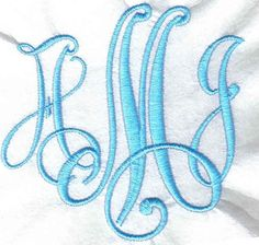 Victor #28 Embroidery Font Alphabet | Apex Embroidery Designs, Monogram Fonts & Alphabets  $16.99