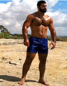 Muscle Tattoo, Sexy Men, Guys, Fitness, Face, Moustaches, People, Swimwear, Beards