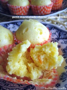 petit marmalade cheese steamed cakes