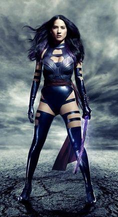 Olivia Munn as Psylocke / Fox