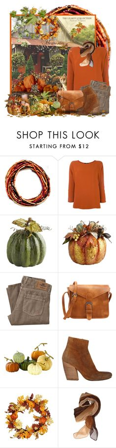 """""""Pumpkin Patch"""" by theleakeycollection ❤ liked on Polyvore featuring Odeeh, Home Decorators Collection and Marsèll"""