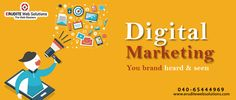 Digital Marketing You brand heard & seen more info-> http://www.eruditewebsolutions.com/services.php #DigitalMarketing #Marketing #Advertising #socialmedia