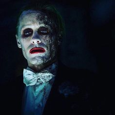 Joker from Suicide Squad in the third act. Rejected by Harley.