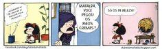 Clube da Mafalda:  Tirinha 698