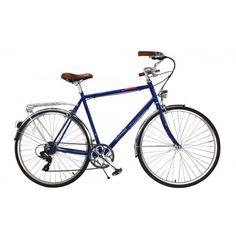 Allegro Velo Townie 58cm Bicycle, Retro, Blue, Veils, Steel Frame, Rv, City, Bicycle Kick, Bicycles