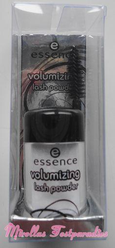 The Volumizing lash powder for beautiful lashes and cat eyes. ;)