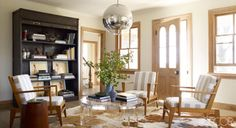 Cool light fixture! Add dimension and elevate design with cool mirrored pieces for every space
