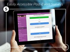 Keep all of your event engagement tools under one roof. From live polls to post-event surveys, EventMobi lets attendees interact with speakers seamlessly. Factors, No Response, Marketing