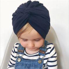 Bandeaux de Cheveux Elasticit/é B/éb/é Fille Bandeau Coton Cheveux Noeud Turban Noue Head band Uniques Cadeaux pour Baby 3 Pi/èces