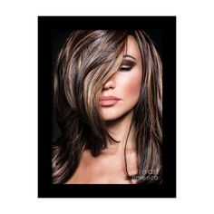 17 Stunning Examples of Balayage Dark Hair Color - Style My Hairs Medium Hair Styles, Short Hair Styles, Brunette Color, Brown Hair Colors, Brown Hair Shades, Hair Colour, Hair Highlights, Chocolate Brown Hair With Highlights, Caramel Highlights