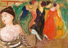 Brothel Scene - Edvard Munch 1903 Norwegian 1863-1944