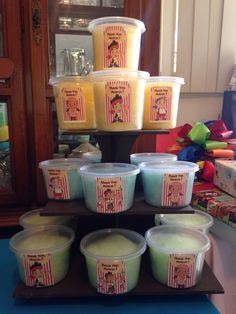 Jake Dessert Table Cotton Candy Tubs