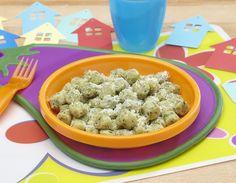 """Ricetta degli """"gnocchetti con spinaci"""", un piatto saporito e divertente da realizzare coi propri bambini."""