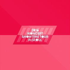 iKON - 2016 iKONCERT SHOWTIME TOUR IN SEOUL LIVE CD