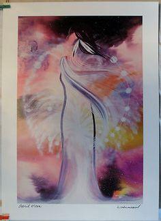 $29.99 Native Spiritual Art Print- April Moon by Wabimeguil (Betty Albert-Lincez)