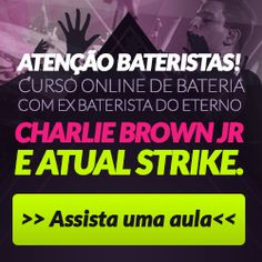 publicando para o mundo: Curso de Bateria Online - Bruno Graveto click na imagem e veja!!!!
