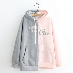 These are generally the lovable hoodie outfits we wish to reiterate direct from design and style females. Kawaii Fashion, Lolita Fashion, Cute Fashion, Teen Fashion, Fashion Outfits, Outfits For Teens, Cool Outfits, Kawaii Clothes, Korea Fashion