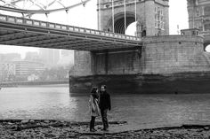 Jessica Williams Photography | London Engagement Shoot in the fog | Pre Wedding Shoot