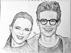 #DaniellePanabaker #GrantGustin #Granielle #TheFlash #CaitlinSnow #BarryAllen #Snowbarry #Drawing