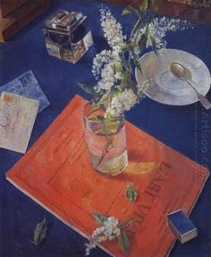 유 Still Life Brushstrokes 유 Nature Morte Painting by Kuzma Petrov-Vodkin Harlem Renaissance, Art Thou, Hyperrealism, Still Life Art, Oil Painting Reproductions, Russian Art, Art Deco, Art Pictures, Painting & Drawing