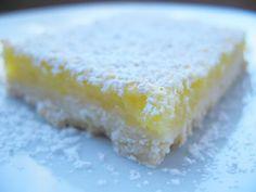 Lemon Bars. My favorite!