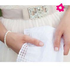 Cinto de strass para o vestido de noiva
