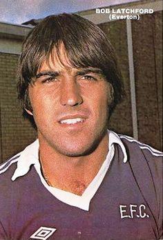 Bob Latchford, Everton still walks on water Hot Blue, Everton Fc, Blues, Bob, Soccer, Football, My Style, Walks, Terrace