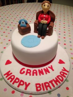 Happy birthday granny!!