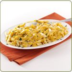 Penne with Pumpkin Cream Sauce. Easy prep. Can't decide if it sounds good.