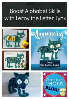 Leroy the Letter Lynx is one of our early childhood literacy animal helpers. Leroy helps students identify letters and sounds through the use of engaging, multisensory, hands-on literacy centers.