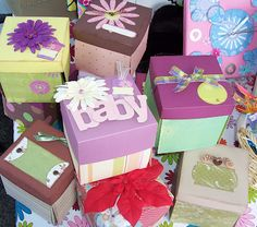 Explosion Scrapbook Photo Boxes
