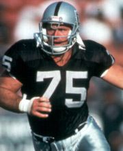 Oakland Raider great and the father of Chris Long, Howie Long