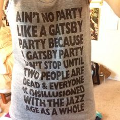 Gatsby's Parties