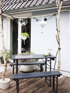 gartenzaungestaltung - 20 beispiele für selbstgebaute gartenzäune, Gartengestaltung