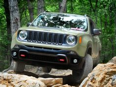 Can a car-based Jeep tackle the same trails as a Wrangler? We put the Jeep Renegade Trailhawk to the test?
