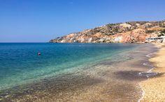 Hotelstrand Paliochori auf Milos, Griechenland @ Marlene Haider / Restplatzboerse.at Paros, Hotels, Strand, Water, Outdoor, Greece, Travel Advice, World, Vacation