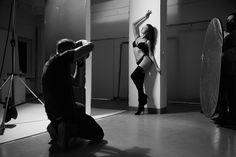 """backstageowo z ostatnich warsztatów """"studio z modelkami"""" :) fota od Edmunda. Dzięki!..."""