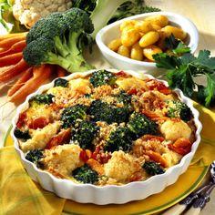 Broccoli-Gemüse-Gratin Rezept | LECKER