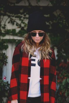 yes to buffalo plaid!