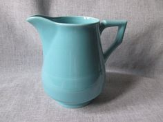 Vernon Kilns Early California Pitcher  by WildCrockophile on Etsy, $18.50