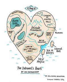 Map Of An Introvert's Heart