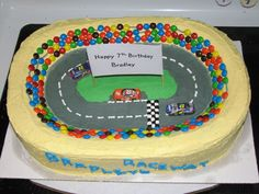 Love this cakejust wish it was Kyle Busch car instead
