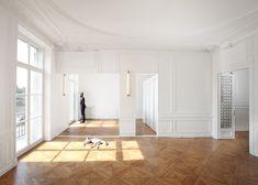 French studio FREAKS freearchitects renovated an apartment on the Rue de Rivoli…