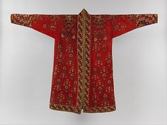 Coat (Choga), mid-19th century or earlier. Present-day Turkmenistan. The Metropolitan Museum of Art, New York. Purchase, Hajji Baba Club and The Page and Otto Marx Jr. Foundation Gifts, in memory of Newton Foster, 1998 (1998.244)