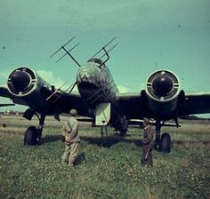 Ju-88 Night Fighter with no propellers. Mmmm, must be the jet version. :)