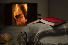 Obsession for spending time reading, specialy when it's cold outside, and you can keep near the fire...