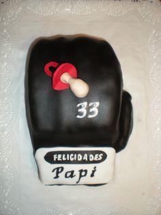 Para un boxeador que está a punto de ser papá, su guante hecho en 3D !!